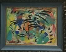"""Original Verdult """"Passion"""" oil canvas"""