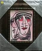 "Original Verdult ""Split Personalities"", oil canvas"