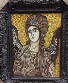 "Original Verdult ""Arch Angel Gabriel"",oil canvas"