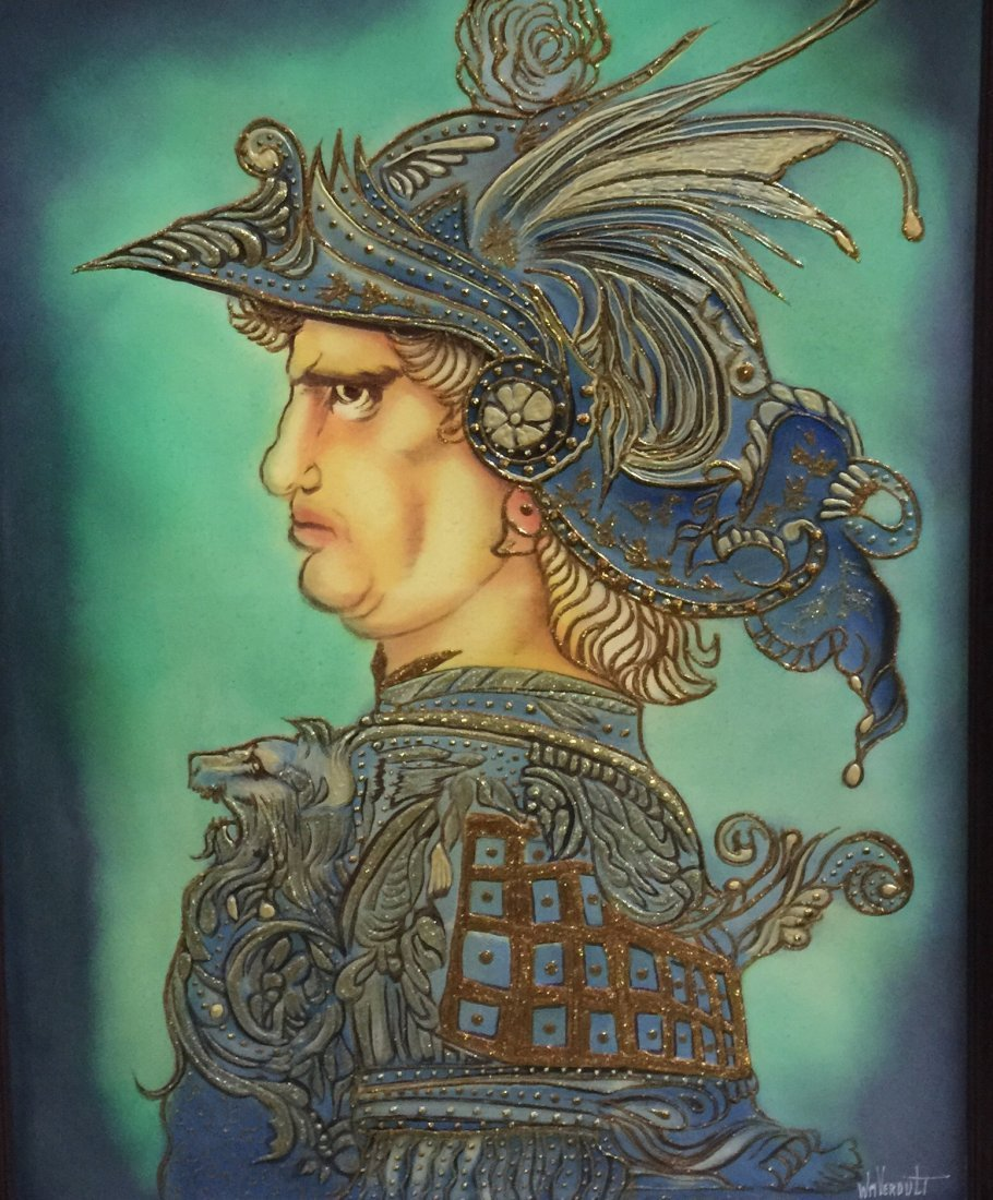 "Original Verdult Prince Mechiavellis"",oil canvas"