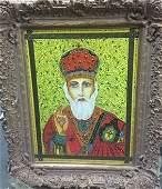 """Original Verdult """"St. SF Nicolae"""",oil canvas"""