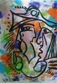 """Original Verdult"""" """"1014"""", watercolor paper"""