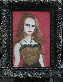 "Original Verdult ""Innocence""oil canvas"