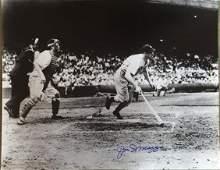 Joe DiMaggio signed glossy