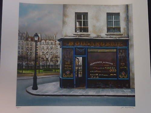 """Andre Renoux """"Boulangerie du Square"""""""
