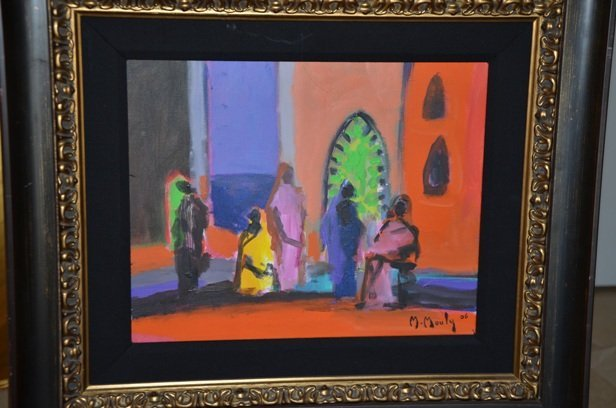 """Marcel Mouly """"Famine Indienne"""""""