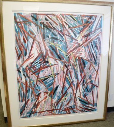 "Charles Arnoldi ""Untitled Monoprint"""