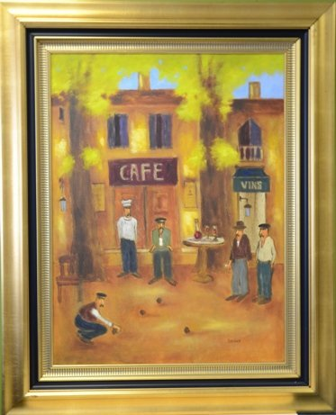 """S. Beukes """"Café et Vins"""""""