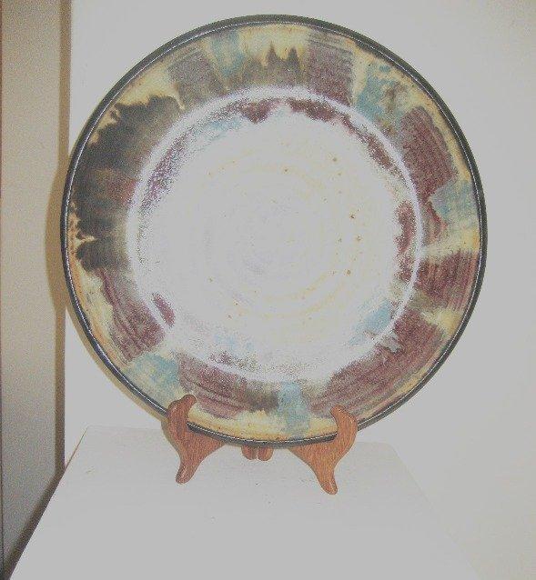 """Otto Heino """"Untitled"""" Ceramic Plate"""