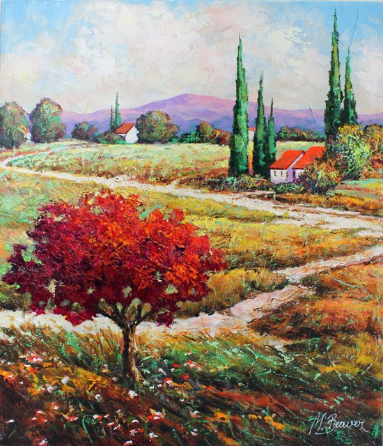 """Michael Braver """"Country Road"""""""
