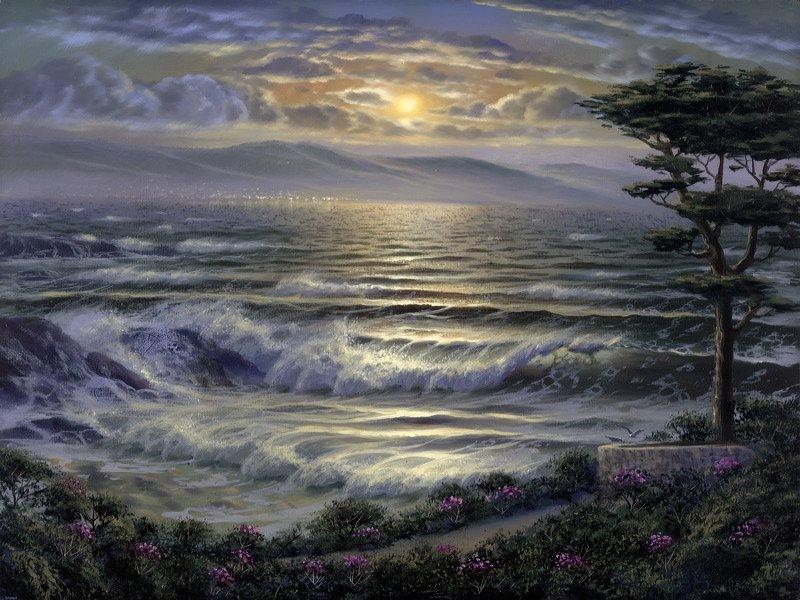 "Maurice Meyers ""Carmel at Twilight"""