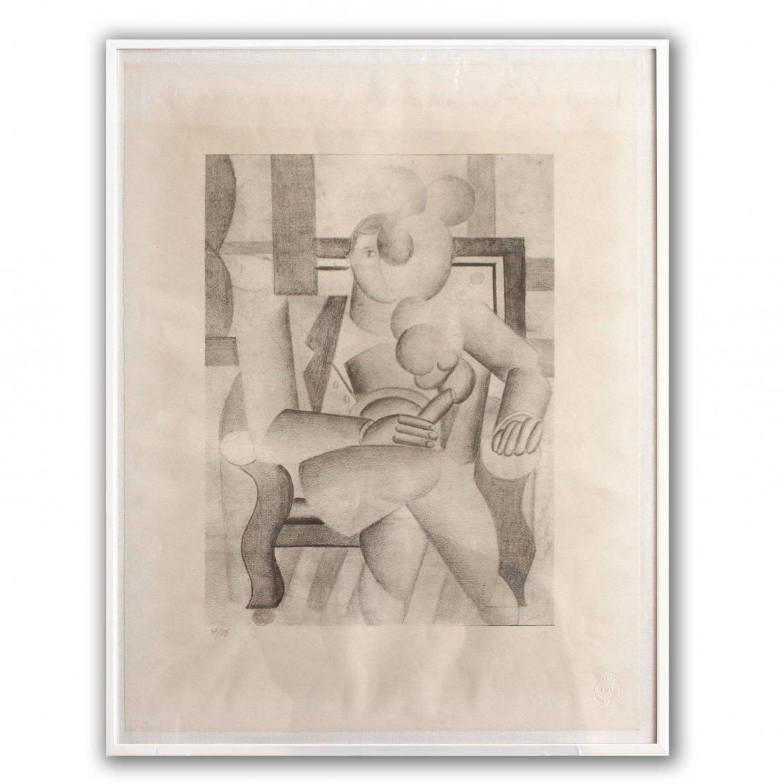 "Fernand Leger ""Le Fumeur"""