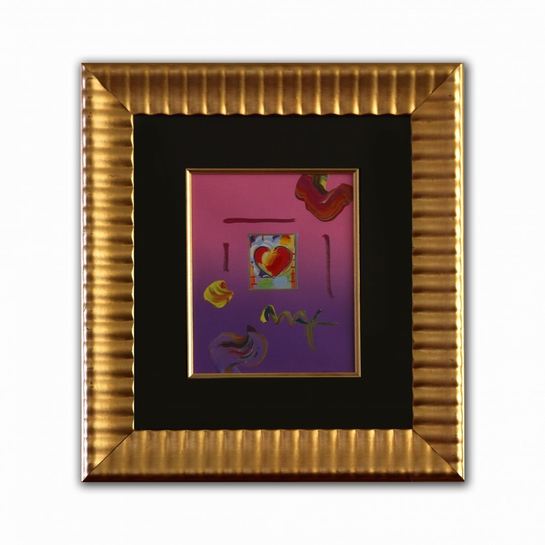"Peter Max ""Heart Series"""