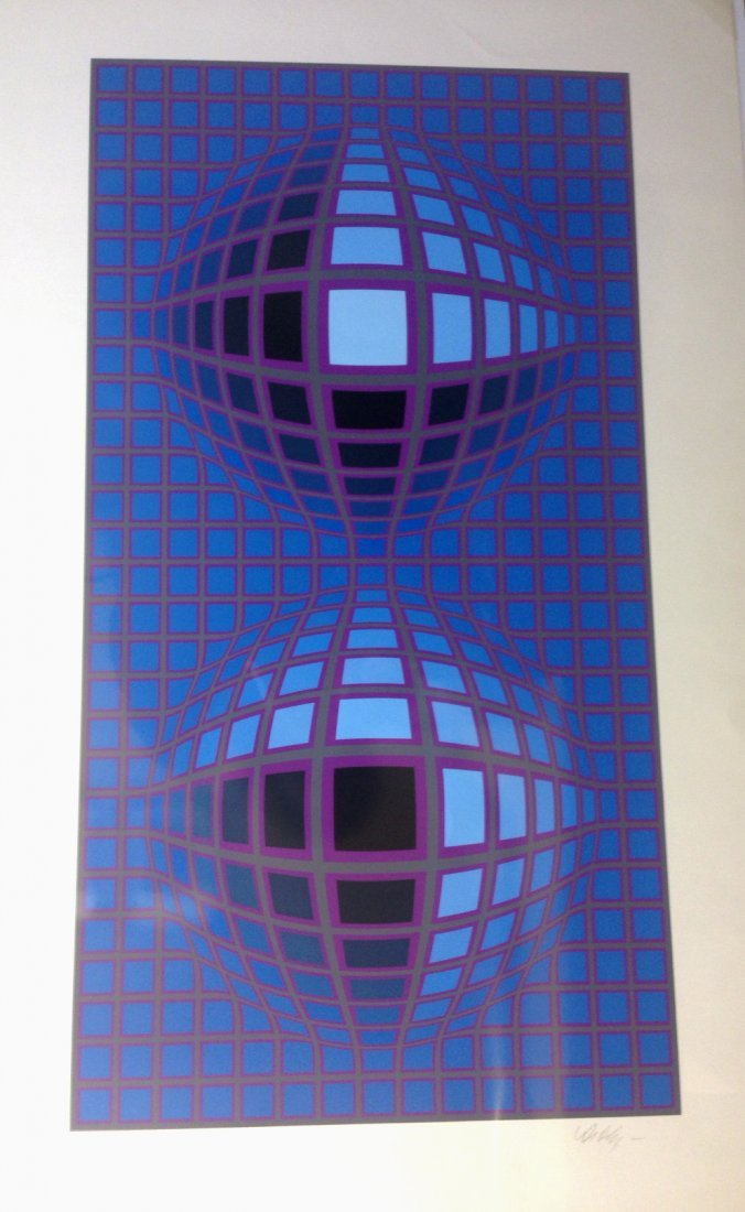 "Victor Vasarely ""Reflection"""