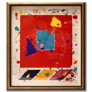 "Sam Francis ""Untitled Abstract"""