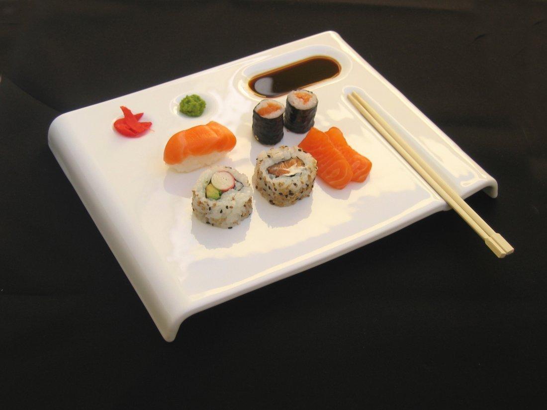 204 Handmade Designer Sushi Plates