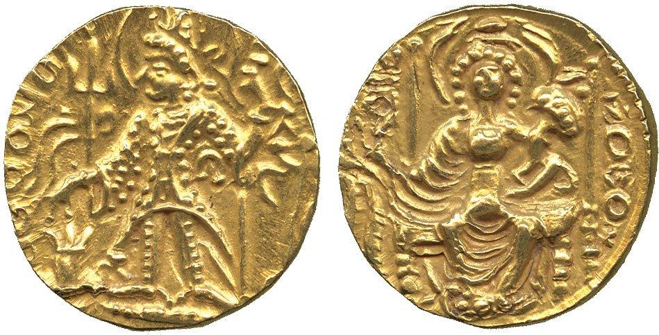 Coins of India. Kushan. Vasudeva III (c.360-365 AD), G