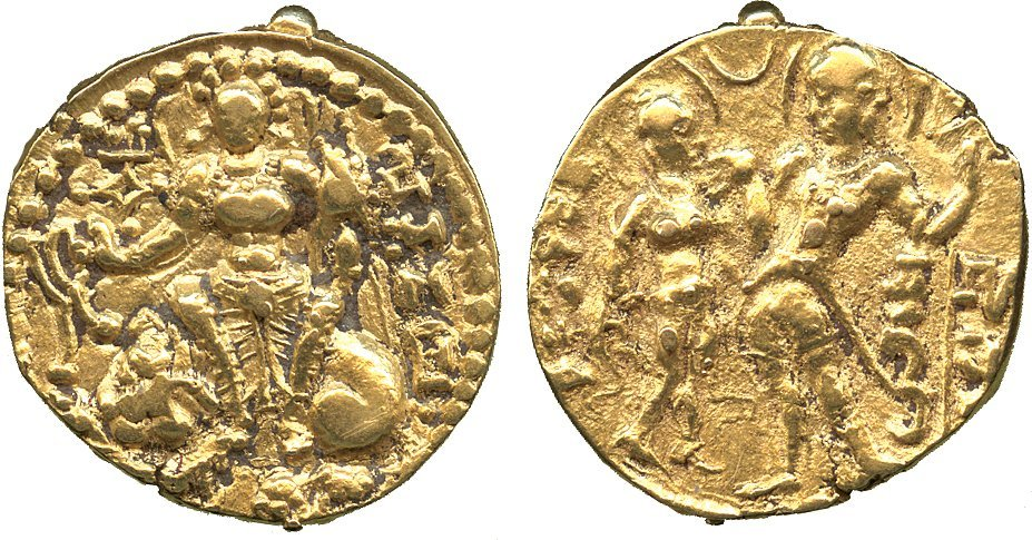 Coins of India. Gupta. Samudragupta (335-380 AD), Gold