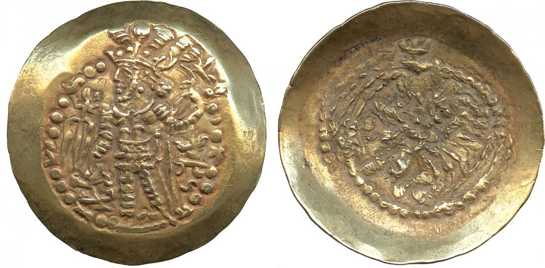 Coins of India. Post-Gupta & Mediaeval. Kidarite Huns