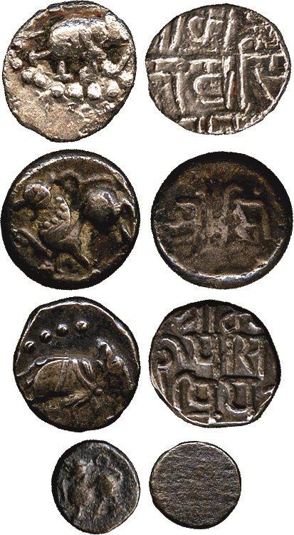 Coins of India. Post-Gupta & Mediaeval. Chalukyas of K