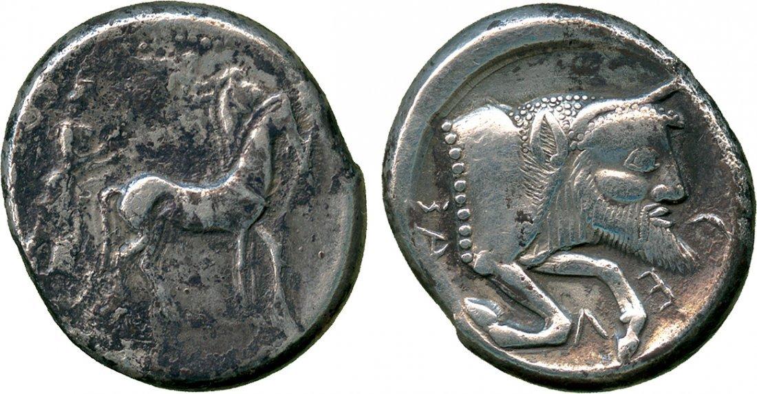 ANCIENT COINS. Greek. Sicily, Gela (c.480-475 BC),