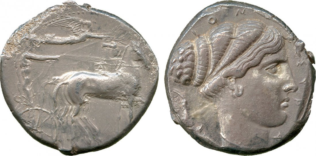 ANCIENT COINS. Greek. Sicily, Syracuse (second
