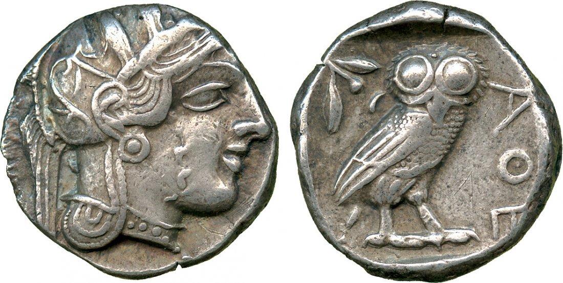 ANCIENT COINS. Greek. Attica, Athens (c.449-415 BC),