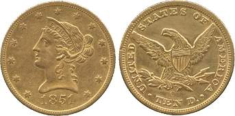 WORLD COINS UNITED STATES OF AMERICA Gold Eagle