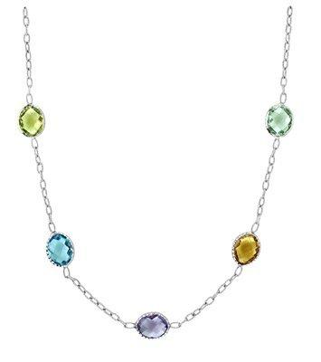 Multi Semi Precious Stone Necklace