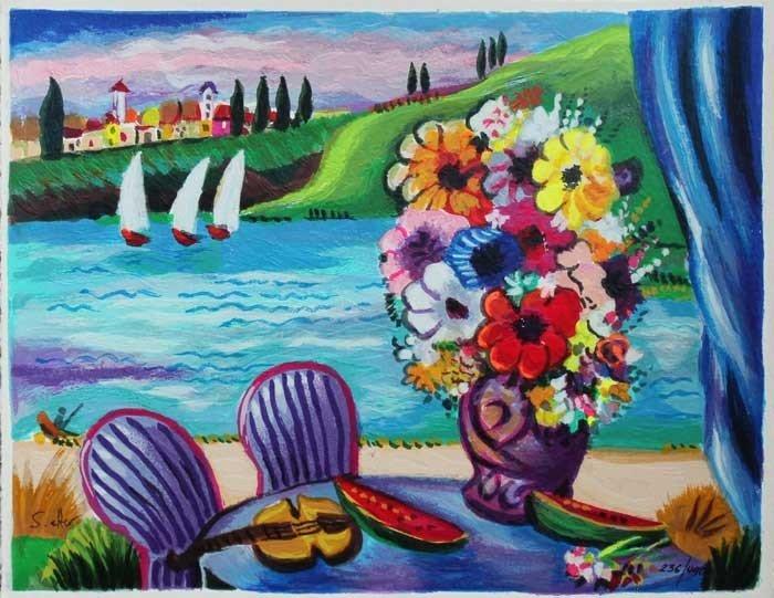 "SHLOMO ALTER ""By the Lake"""