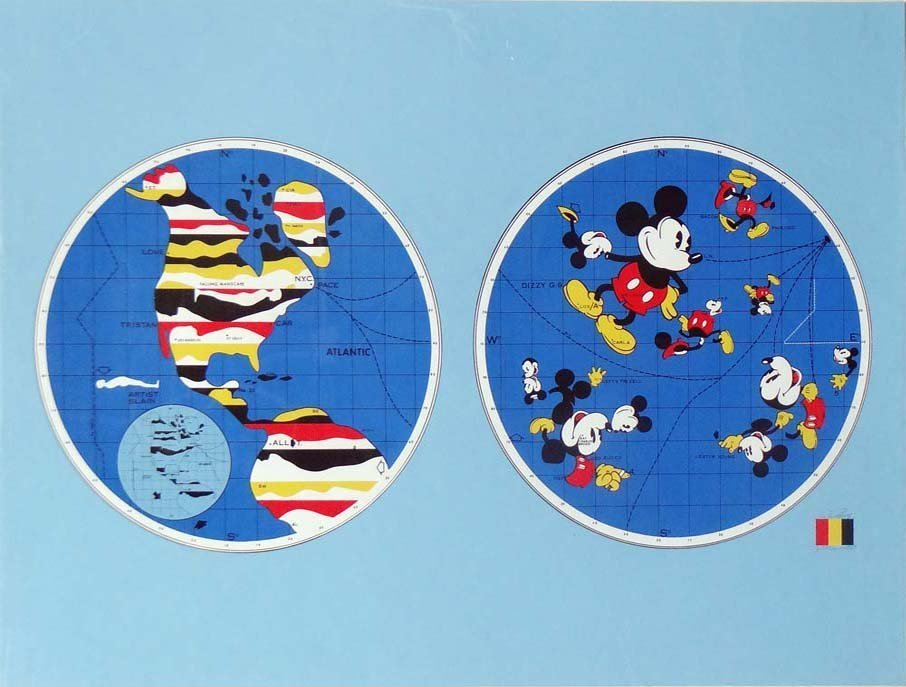 "Ernest Trova- ""Mickey Mouse World"""