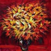 "Original YANAH KOROBOV ""Exotic Bouquet"""