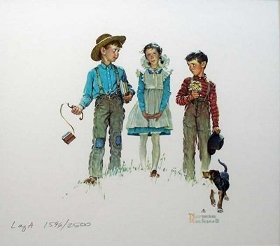 Signed Limited Edition Rockwell