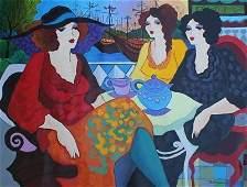 "PATRICIA GOVEZENSKY ""Lady's Tea at Port"""
