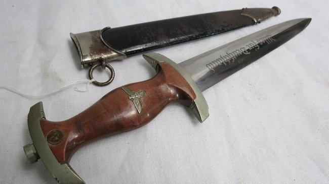 A National Socialist Motor Corp (NSKK) dagger, the brow