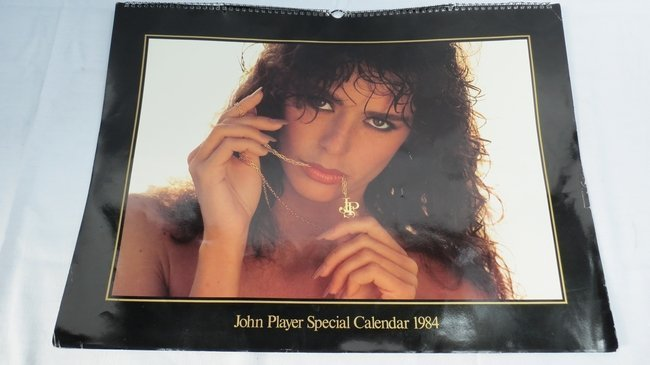 John Player Special Calendar 1984, of lovely ladies col
