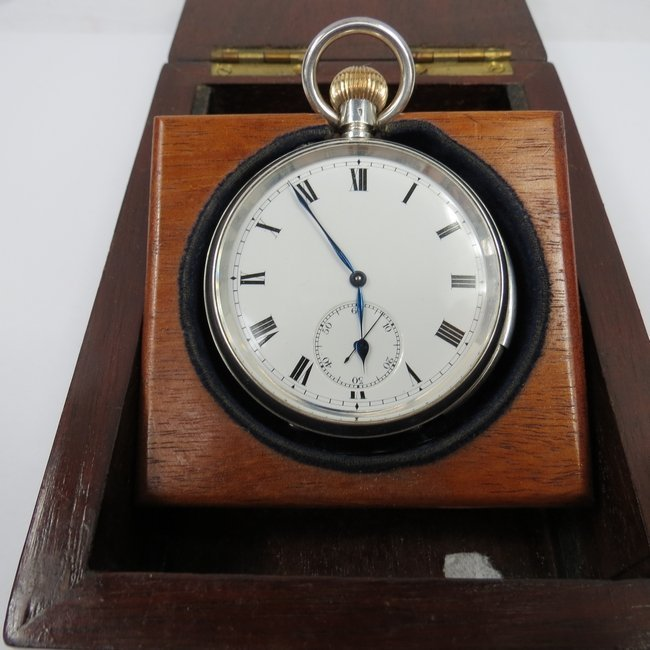 An early 20th C. minute repeating pocket watch, the mov
