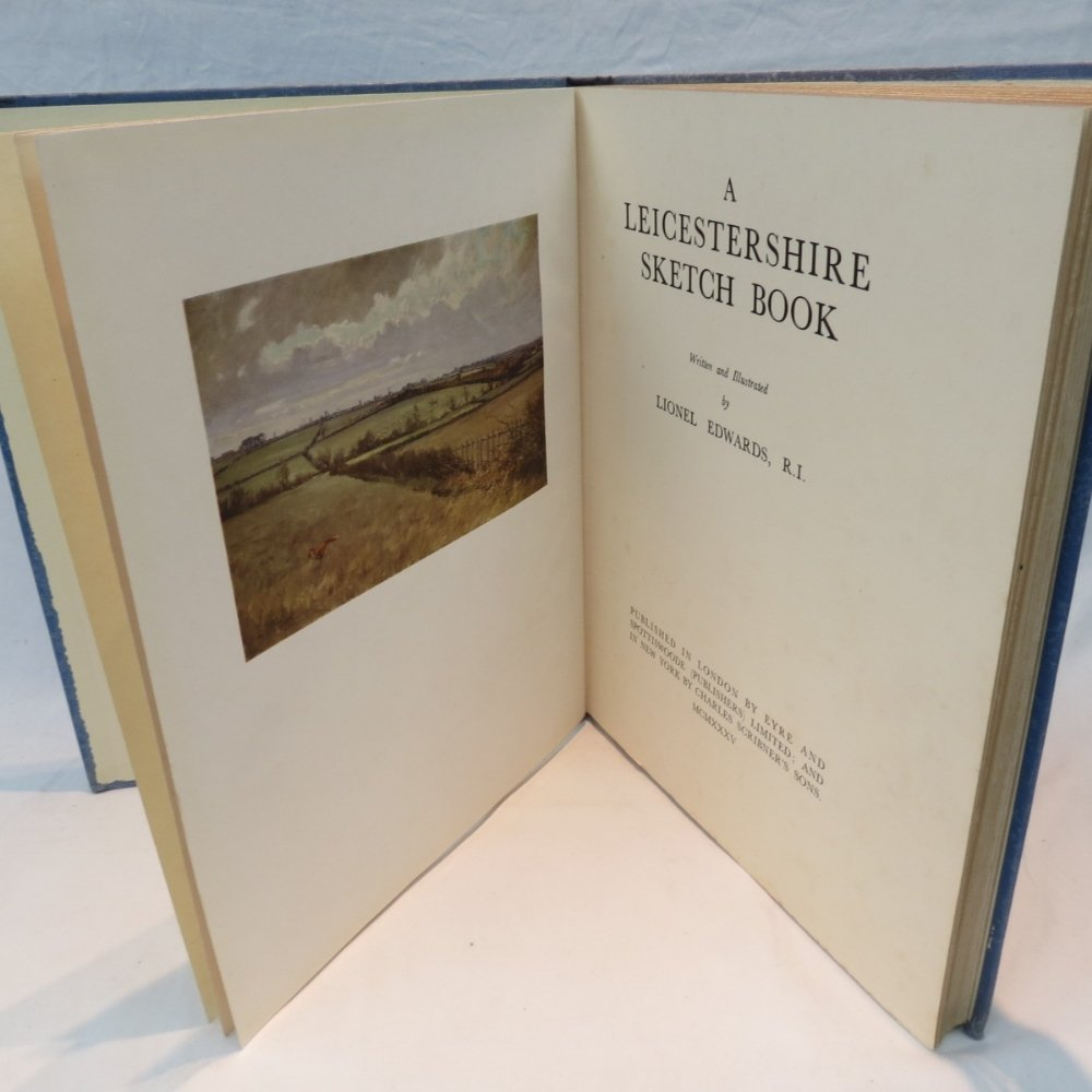 A Leicestershire Sketch Book, written an