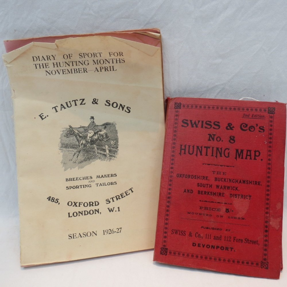 A 1904 Hunting Map by Swiss & Co., No.8