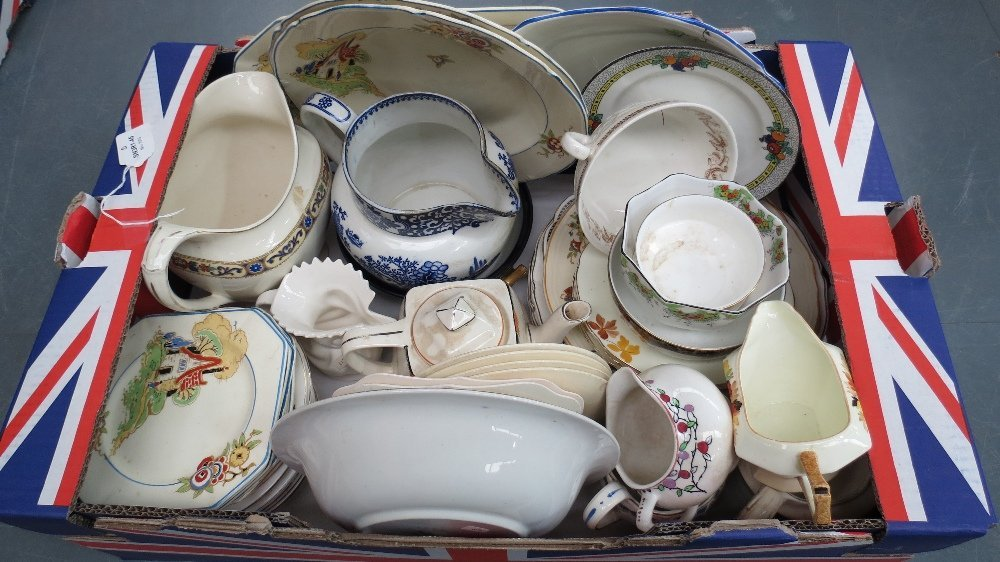 A quantity of vintage teawares by variou
