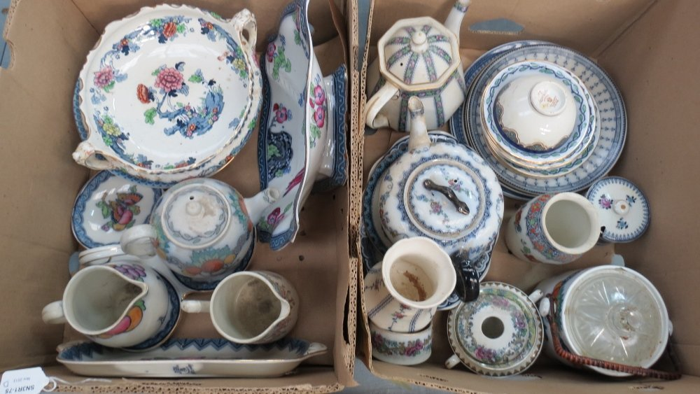 A large quantity of Losol ware including