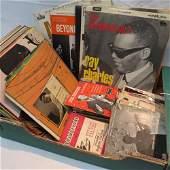 A quantity of vinyl gramophone records c