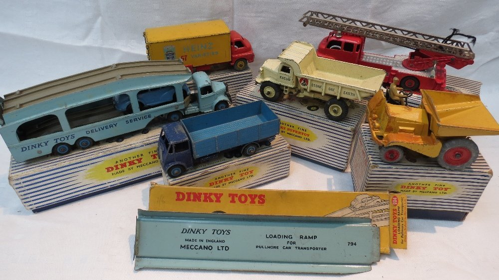 A Dinky Pullmore Car Transporter, no. 58