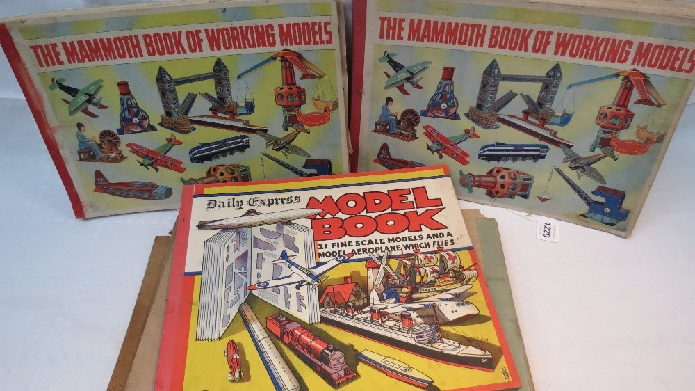 The Wonder Book of Working Models by Odh