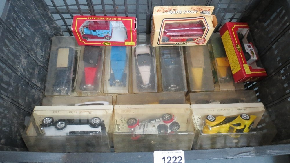 A collection of 'Age d Or' model cars by