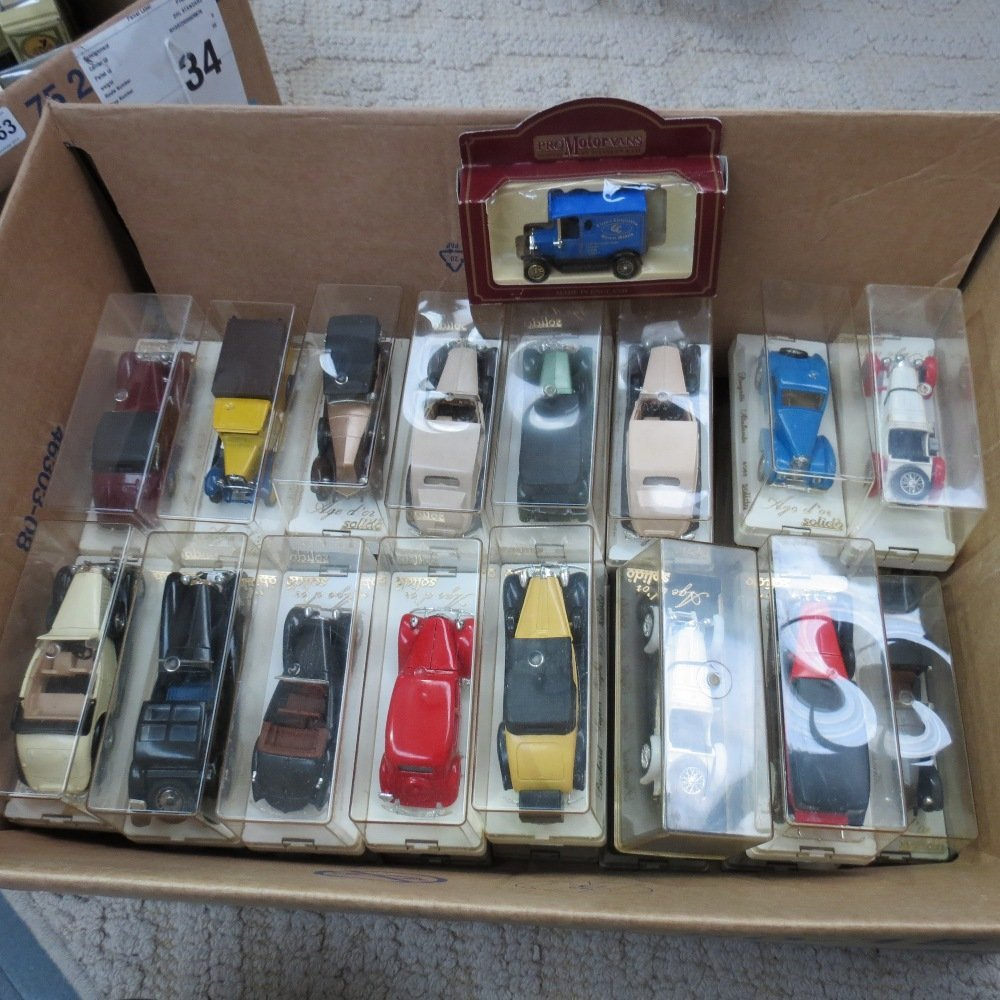 In excess of thirty Solido die cast Clas