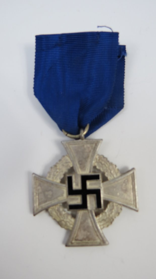 A WWII German 25 year service medal.