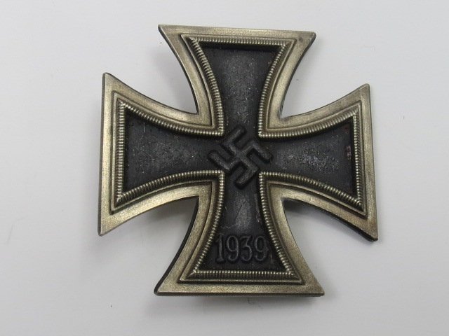 A Nazi Iron Cross, First Class, fitted with a pin,