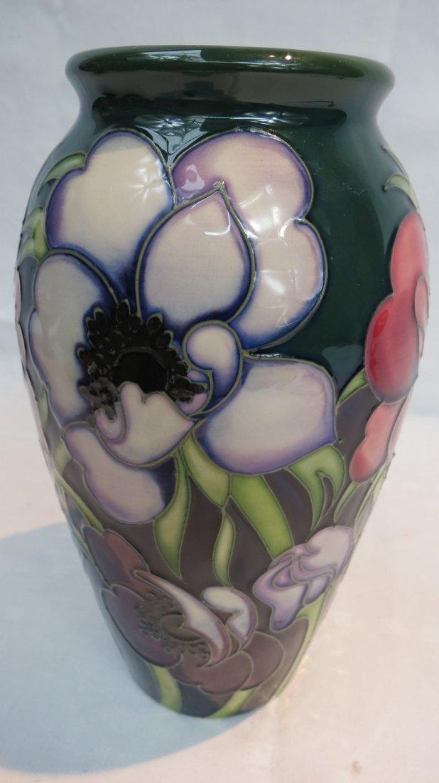 A Moorcroft baluster shaped vase,