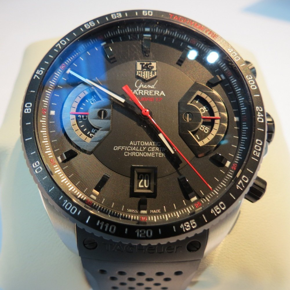 A gents Tag Heuer Carrera Chronometer, automatic